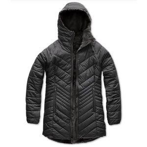 North Face Women's Mossbud Jacket Black Sz XL